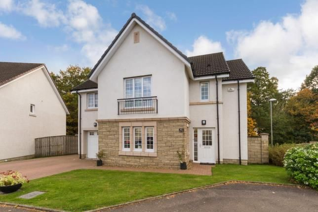 Thumbnail Detached house for sale in Heron View, Motherwell, North Lanarkshire