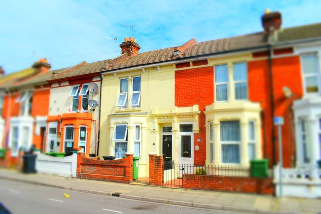 Thumbnail Terraced house to rent in Manners Road, Southsea, Hampshire