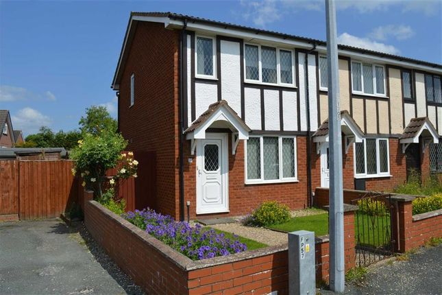 Thumbnail Terraced house to rent in 26, Pavilion Court, Llanidloes Road, Newtown, Powys