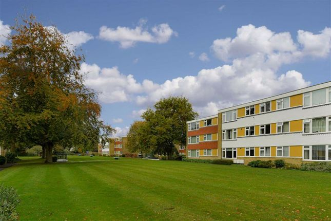 Thumbnail 3 bed flat for sale in Sandown Lodge, Epsom, Surrey