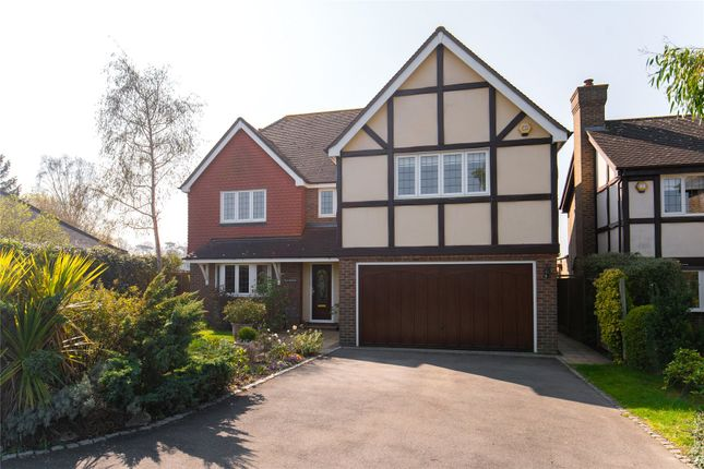 Thumbnail Detached house for sale in Oak Hill Road, Stapleford Abbotts, Romford, Essex