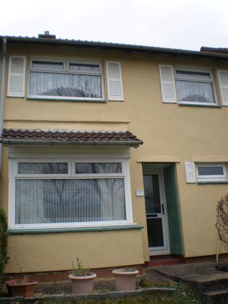 Thumbnail End terrace house to rent in Maesyderi, Aberaman, Aberdare