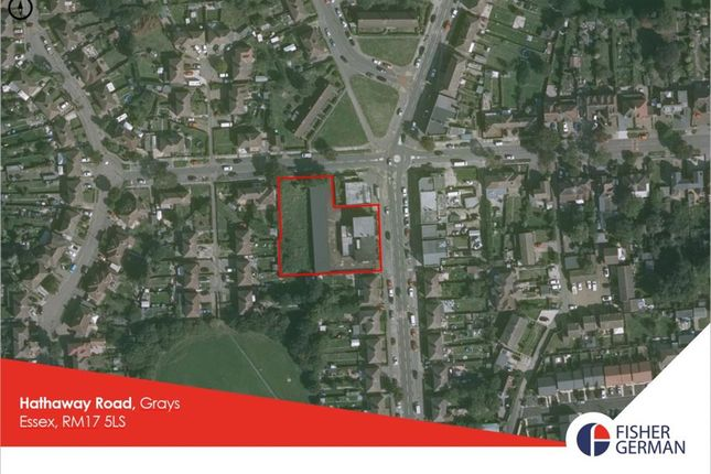 Thumbnail Land for sale in Hathaway Road, Grays, Essex