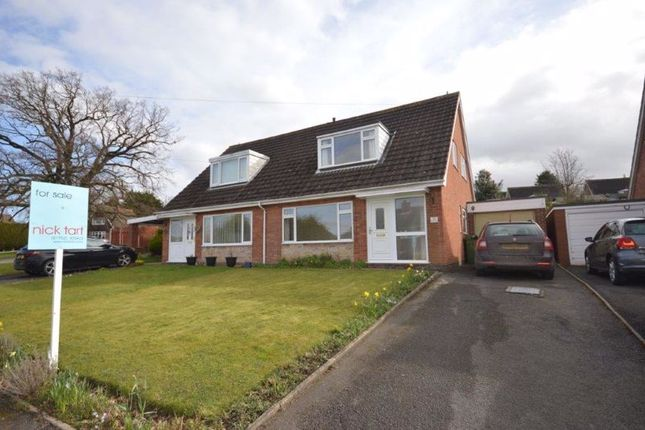 3 bed semi-detached house for sale in Severn Way, Cressage, Shropshire. SY5