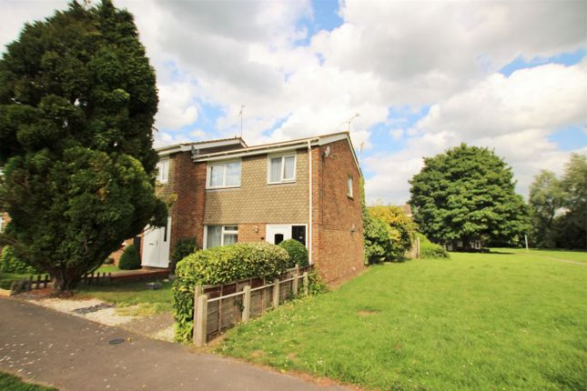 Thumbnail End terrace house for sale in Teign Drive, Witham, Essex