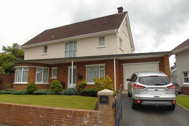 Thumbnail Detached house for sale in Spowart Avenue, Llanelli