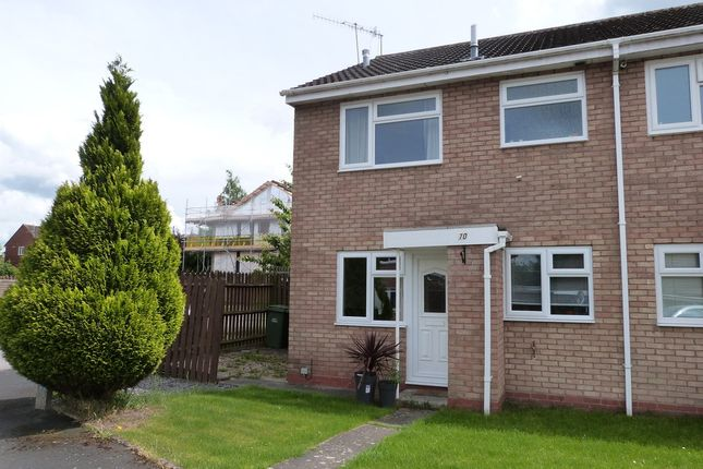 Thumbnail End terrace house to rent in Henley Drive, Droitwich