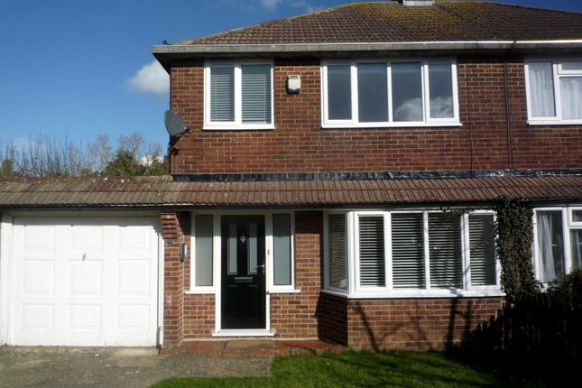 Thumbnail Semi-detached house to rent in Little Copse Road, Hassocks