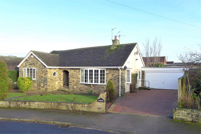 Thumbnail Detached bungalow to rent in Lawnfield Drive, Bishop Monkton, Harrogate