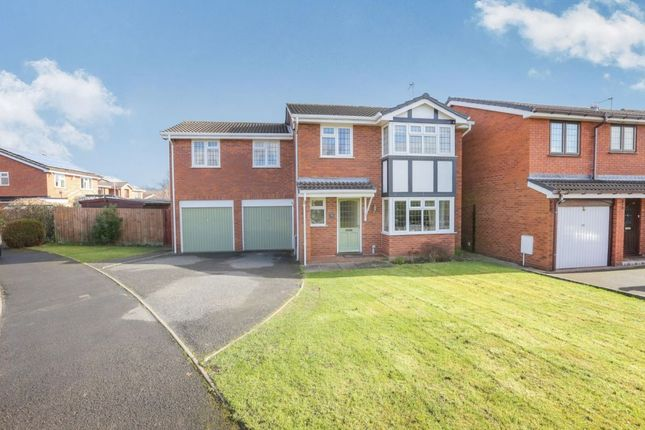 Thumbnail Detached house for sale in Lytham Road, Perton, Wolverhampton