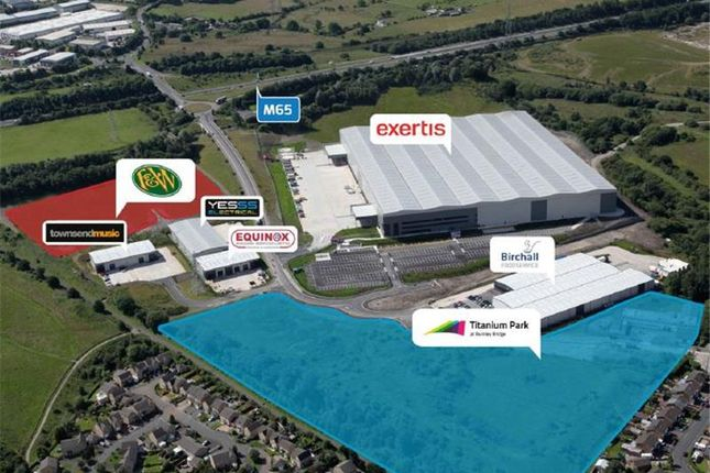 Thumbnail Warehouse for sale in Titanium Park, Burnley Bridge, Burnley, Lancashire, UK