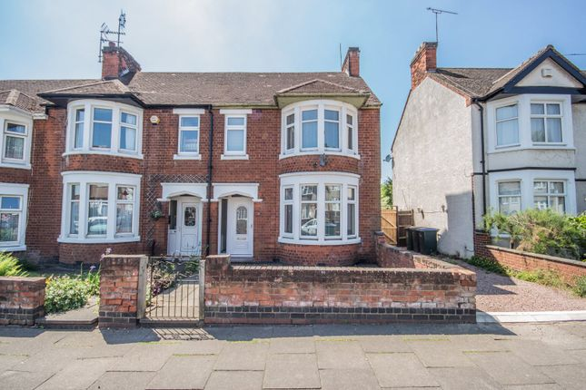 Thumbnail End terrace house to rent in The Mount, Coventry