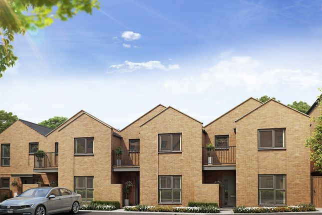 "Thumbnail Terraced house for sale in ""The Corgan "" at Harrow View, Harrow"