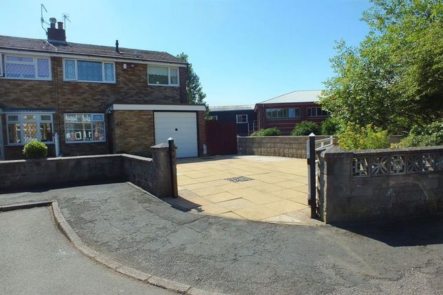 Thumbnail Semi-detached house for sale in Melstone Avenue, Tunstall, Stoke-On-Trent
