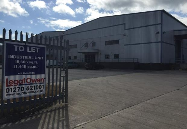 Thumbnail Light industrial for sale in Unit 2, Road Four, Winsford Industrial Estate, Winsford, Cheshire