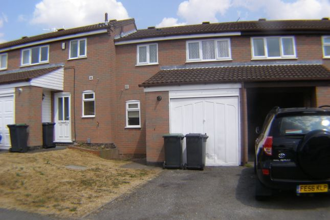 Thumbnail Town house to rent in Ash Crescent, Nuthall