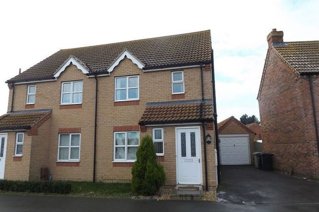 Thumbnail Semi-detached house to rent in Goshawk Way, Tattershall, Lincoln