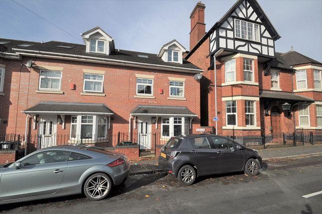 Thumbnail Town house for sale in De Brompton Villas, Newcastle, Staffs