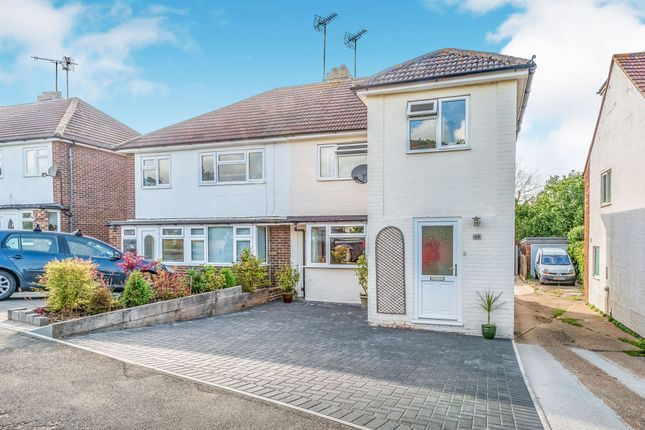 Thumbnail Semi-detached house for sale in Stonepound Road, Hassocks