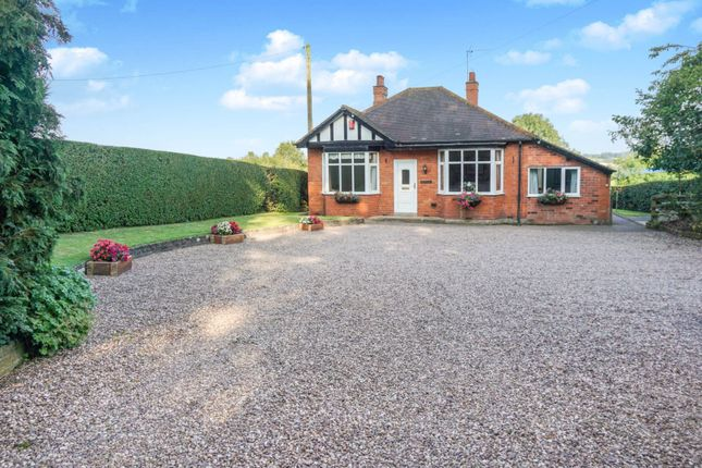 Thumbnail Detached bungalow for sale in Gravenhunger Lane, Woore, Crewe