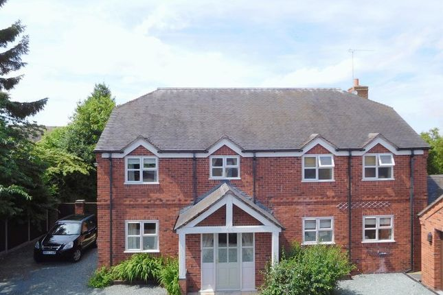 Thumbnail Detached house for sale in Betley, Crewe, Staffordshire