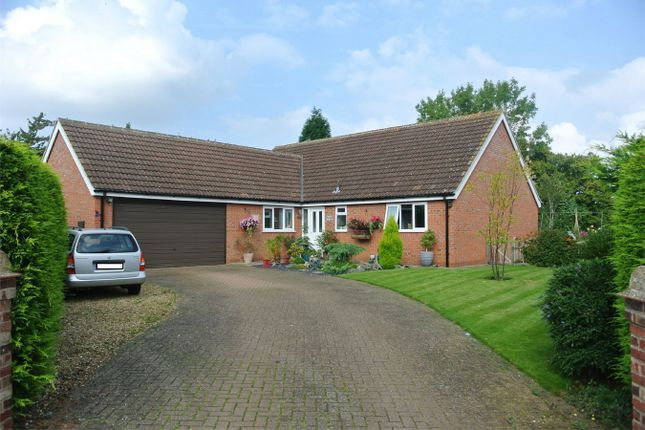 Thumbnail Detached bungalow for sale in The Covert, Thurlby, Bourne, Lincolnshire