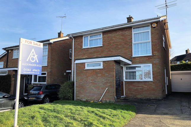 Thumbnail Detached house for sale in Harrington Heights, Houghton Regis, Dunstable