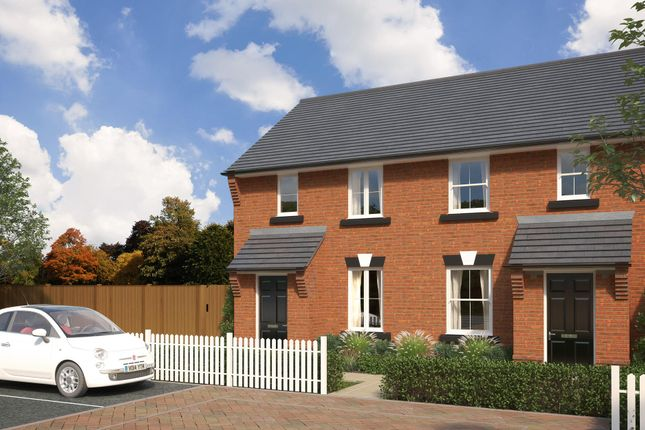 "Thumbnail Semi-detached house for sale in ""Dean"" at St. Lukes Road, Doseley, Telford"