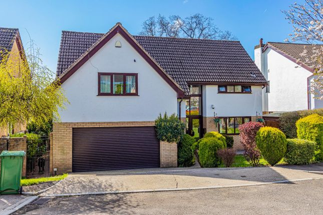 Thumbnail Detached house for sale in The Paddock, Lisvane, Cardiff