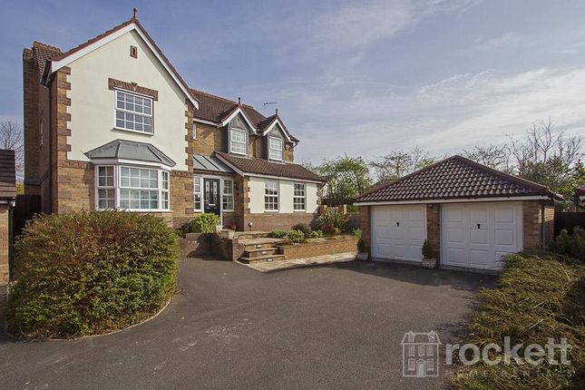 Thumbnail Detached house to rent in Bluebell Drive, Newcastle-Under-Lyme