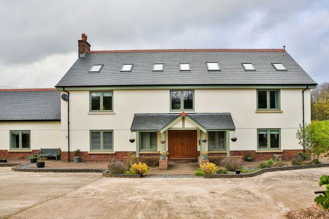 Thumbnail Detached house for sale in Bassaleg, Newport