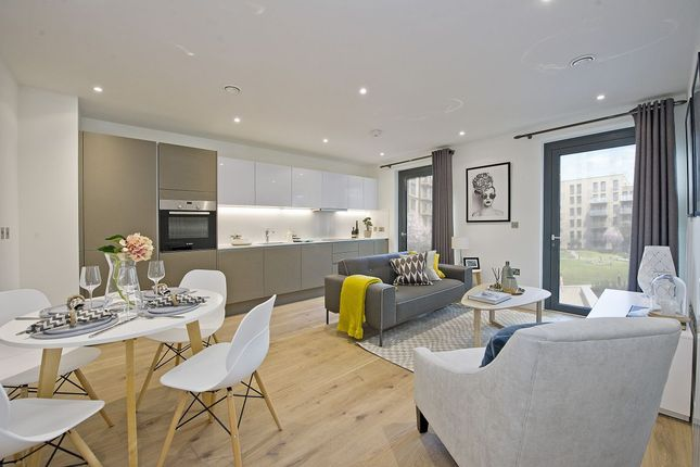 Thumbnail Flat to rent in Exhibition Way, London