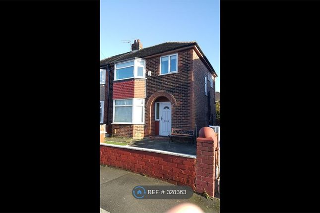 Thumbnail Semi-detached house to rent in Bakewell Road, Manchester