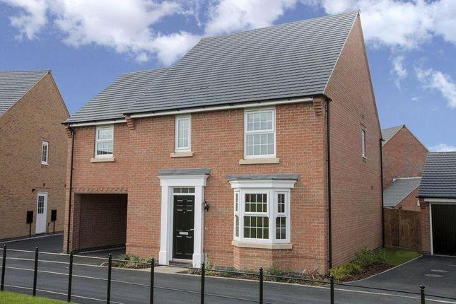 "Thumbnail Detached house for sale in ""Hurst"" at Carters Lane, Kiln Farm, Milton Keynes"