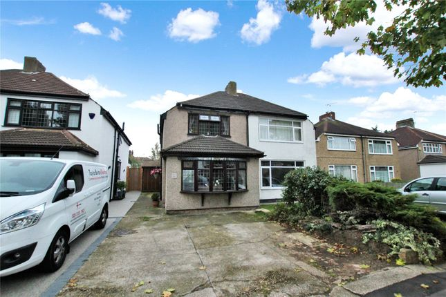 Thumbnail Semi-detached house for sale in Wyncham Avenue, Sidcup, Kent