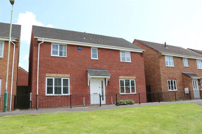 Thumbnail Detached house for sale in Golwg Y Bont, Blackwood