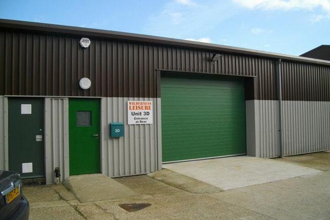 Thumbnail Warehouse to let in Unit 3D Sharlands Road, Newgate Lane Industrial Estate, Fareham, Hampshire