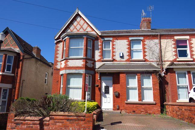 Thumbnail Semi-detached house for sale in Hillside Road, Wallasey