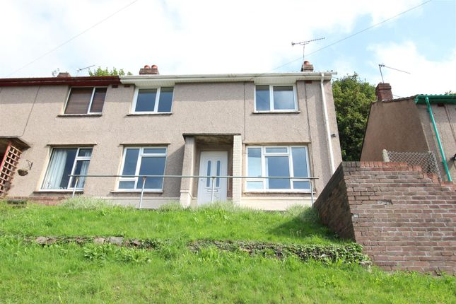 Thumbnail Semi-detached house to rent in Channel View, Risca, Newport