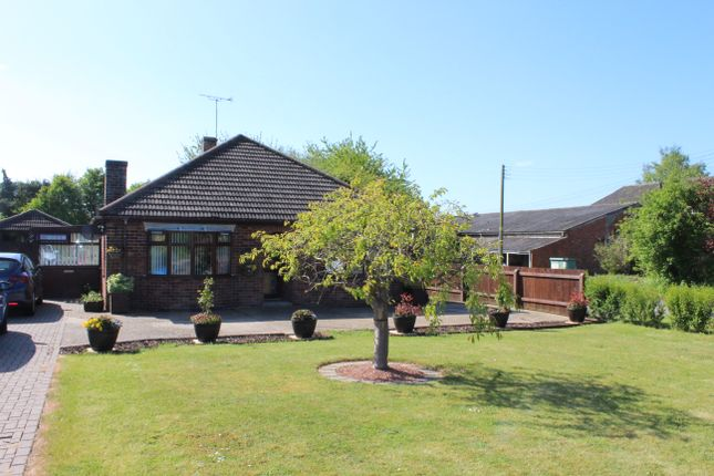 Thumbnail Detached bungalow to rent in Station Road, Potterhanworth