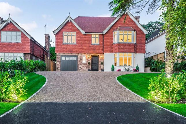 Thumbnail Detached house for sale in St. Marys Road, Leatherhead, Surrey