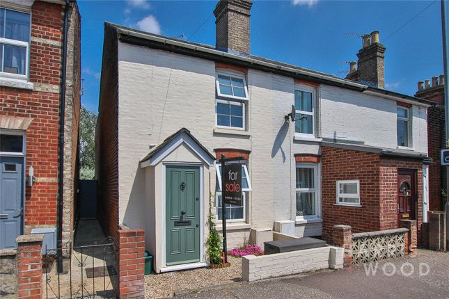 Thumbnail End terrace house for sale in Bergholt Road, Colchester