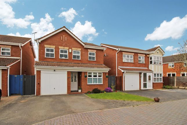 Thumbnail Detached house for sale in Tybalt Close, Heathcote, Warwick