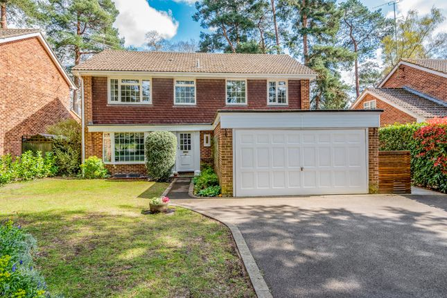 Thumbnail Detached house for sale in Dean Close, Pyrford, Woking