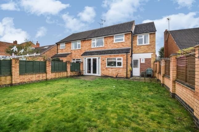 Garden of Wellington Street, Syston, Leicester, Leicestershire LE7