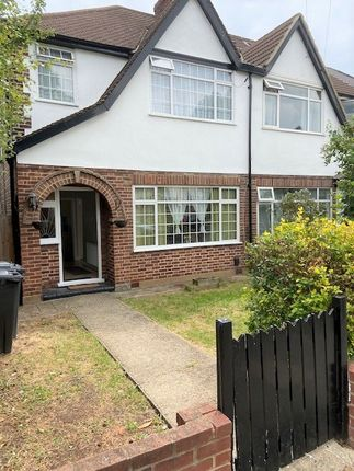 Thumbnail Semi-detached house to rent in The Fairway, Northolt