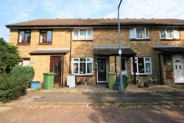 Thumbnail Terraced house to rent in Fiennes Close, Dagenham, Essex