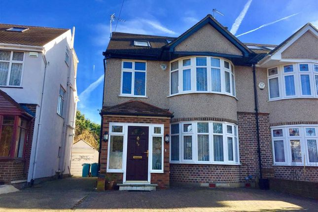 Thumbnail Semi-detached house for sale in Belmont Lane, Stanmore