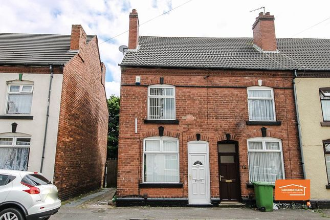 Thumbnail End terrace house for sale in Cope Street, Leamore, Walsall