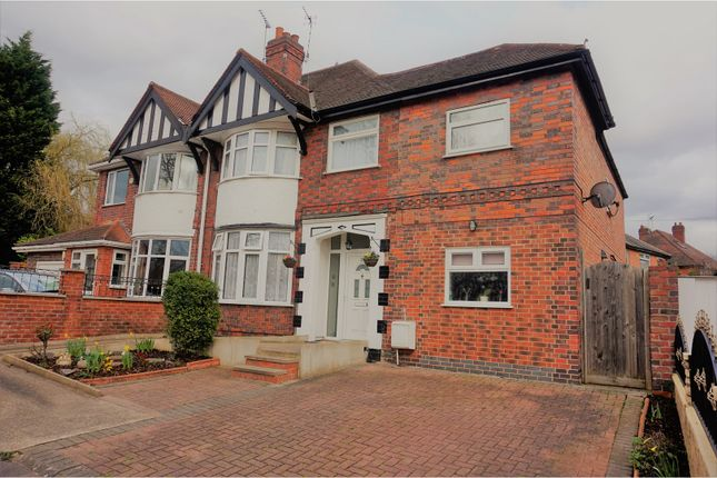 Thumbnail Semi-detached house for sale in Thurmaston Lane, Leicester